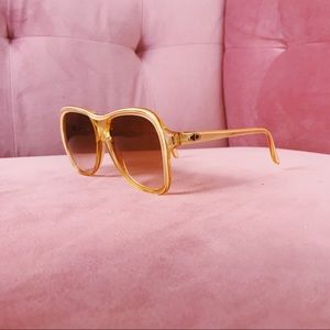Dior Accessories - Vintage Oversized Christian Dior Sunglasses
